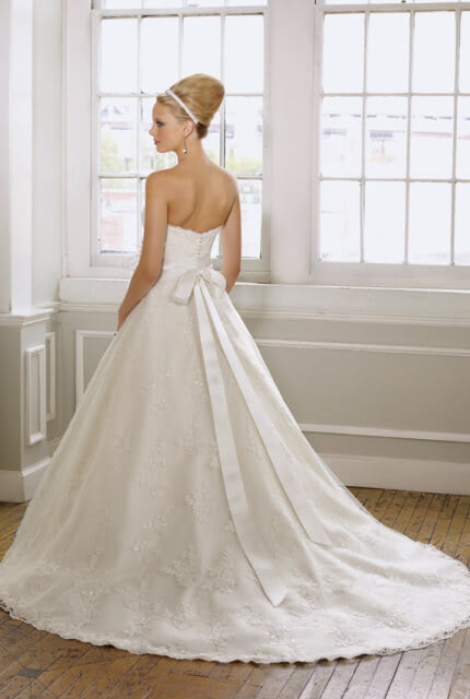 Mori Lee – Size 10 Ball Gown dress | Second hand wedding dresses Enfield - 4