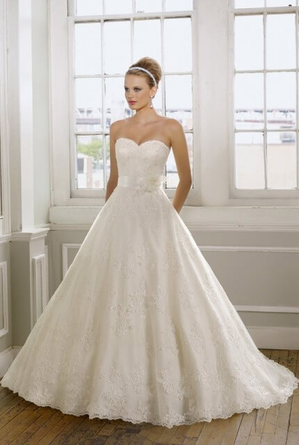 Mori Lee – Size 10 Ball Gown dress | Second hand wedding dresses Enfield - 3