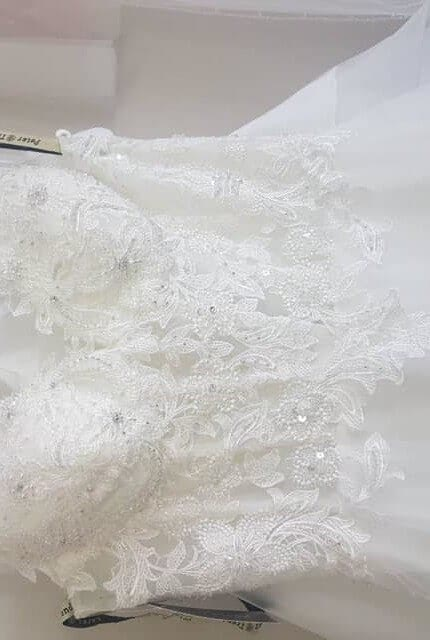 Caleche – Size 10 A-Line dress | Second hand wedding dresses Padstow - 3