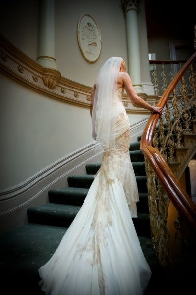 Rose Zurzolo Couture – Size 12 Fit and Flare dress | Second hand wedding dresses Surrey Hills - 8