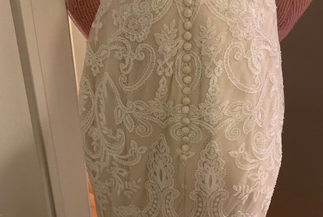 Anne Barge – Size 8 Fit and Flare dress | Second hand wedding dresses Melbourne - 7