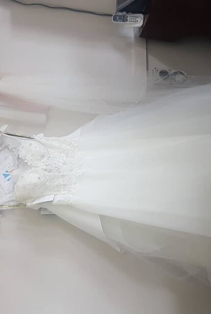 Caleche – Size 10 A-Line dress | Second hand wedding dresses Padstow - 4