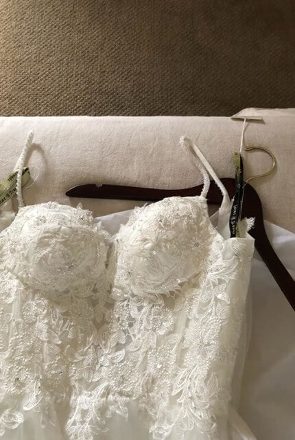 Caleche – Size 10 A-Line dress | Second hand wedding dresses Padstow - 5