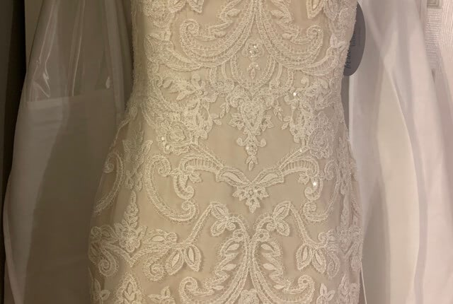Anne Barge – Size 8 Fit and Flare dress | Second hand wedding dresses Melbourne - 4