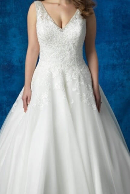 Allure Bridals – Size 16 A-Line dress | Second hand wedding dresses Kedron - Size 14