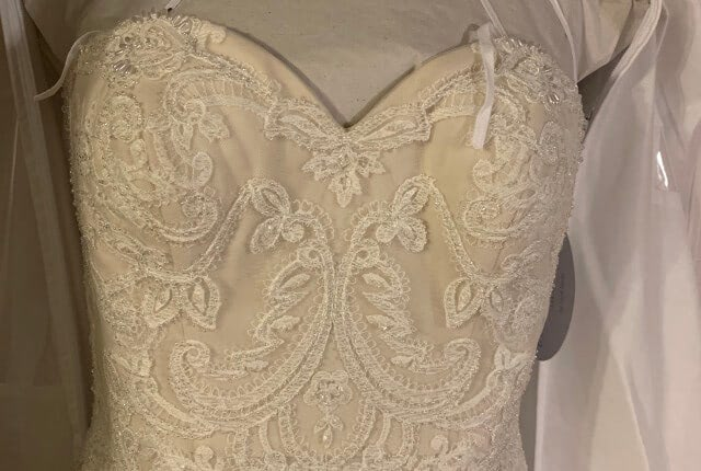 Anne Barge – Size 8 Fit and Flare dress | Second hand wedding dresses Melbourne - 5