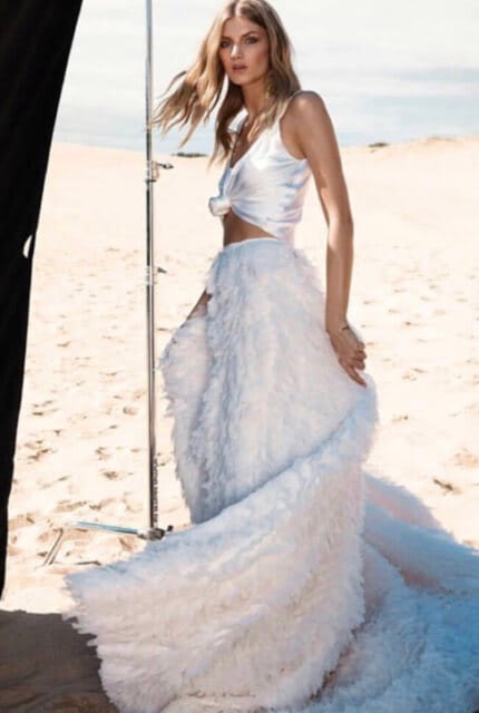 One Day Bridal – Size 6 Two Piece dress | Second hand wedding dresses Melbourne - Size 6