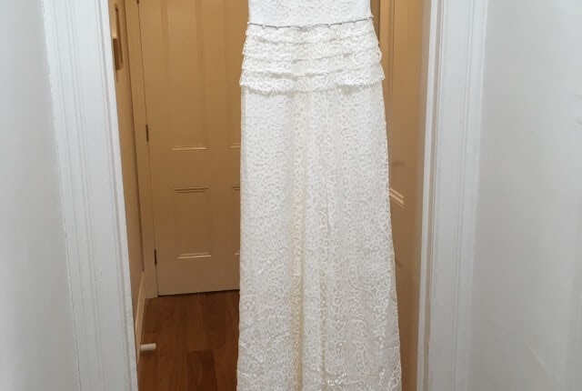 Lisa Ho – Size 8 Vintage dress | Second hand wedding dresses Brunswick, 3056 - 4