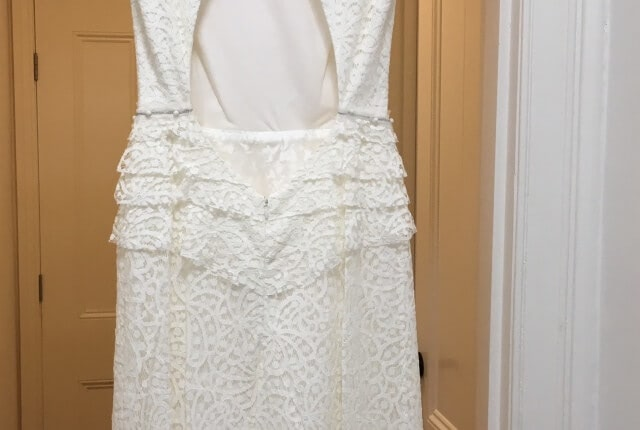 Lisa Ho – Size 8 Vintage dress | Second hand wedding dresses Brunswick, 3056 - 7