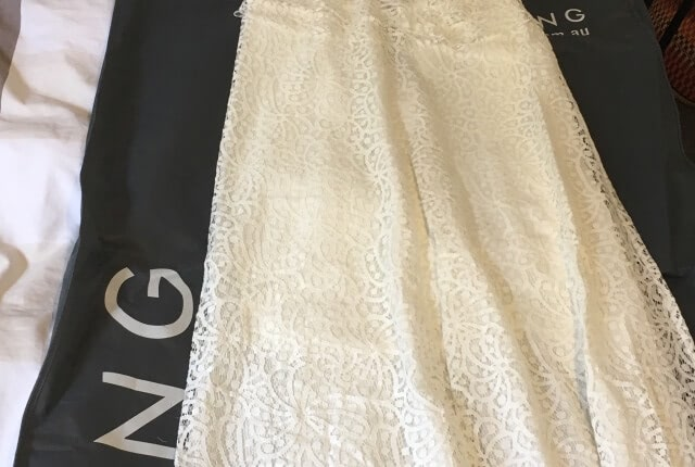 Lisa Ho – Size 8 Vintage dress | Second hand wedding dresses Brunswick, 3056 - 11