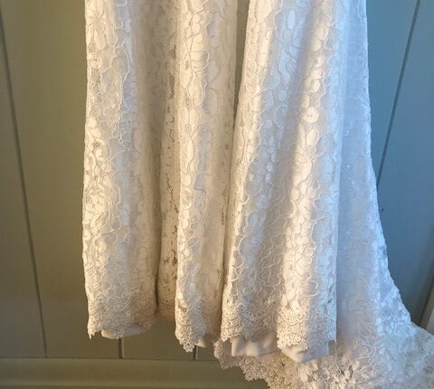 Made With Love – Size 8 A-Line dress | Second hand wedding dresses New Farm - 7