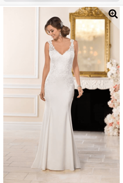 Stella York – Size 14 Fit and Flare dress | Second hand wedding dresses Surrey Hills - 3