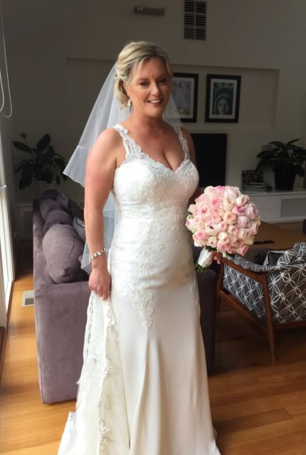 Stella York – Size 14 Fit and Flare dress | Second hand wedding dresses Surrey Hills - Size 14