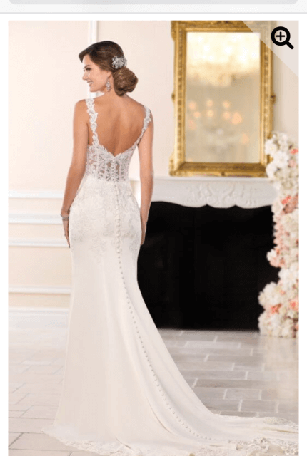 a2a49be05be5 Stella York – Size 14 Fit and Flare dress | Second hand wedding dresses  Surrey Hills