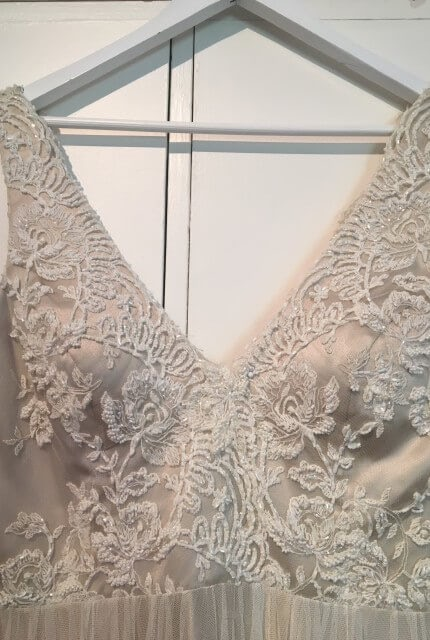 Caleche – Size 14 A-Line dress | Second hand wedding dresses Epping - 2