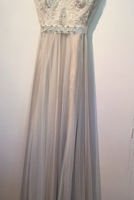 Caleche – Size 14 A-Line dress | Second hand wedding dresses Epping - 3
