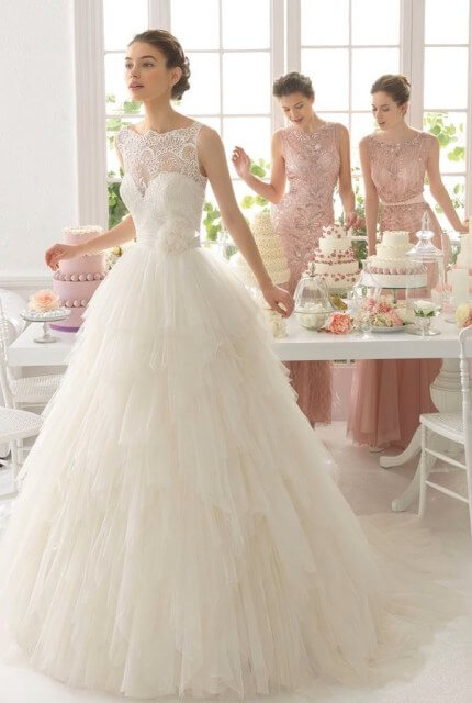 Rosa Clara – Size 12 Ball Gown dress | Second hand wedding dresses Ermington - Size 12