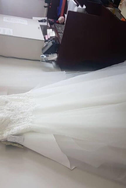 Peter Trends – Size 12 A-Line dress | Second hand wedding dresses Doveton - 10