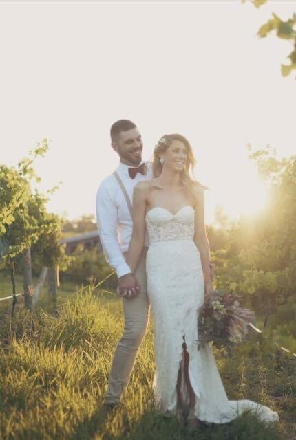 Made With Love Bridal – Size 8 Strapless dress | Second hand wedding dresses Carseldine - 2