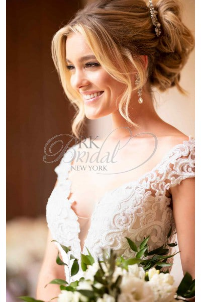 Stella York – Size 10 Fit and Flare dress | Second hand wedding dresses Maidstone - 3