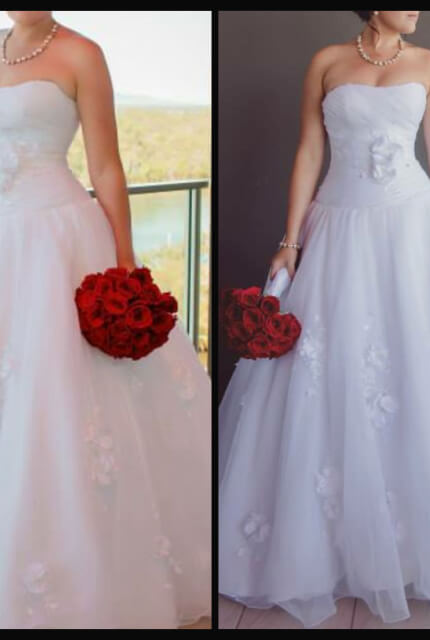 Brides of Melbourne – Size 12 Ball Gown dress | Second hand wedding dresses Capella - 2