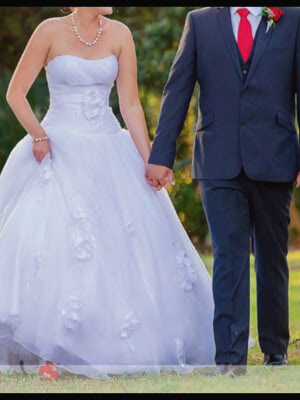 Ball Gown dress by Brides of Melbourne