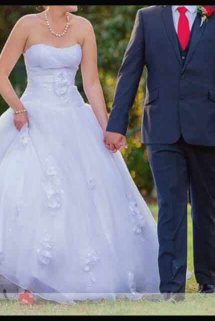 Brides of Melbourne – Size 12 Ball Gown dress | Second hand wedding dresses Capella - Size 12