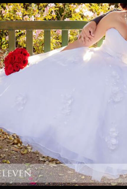 Brides of Melbourne – Size 12 Ball Gown dress | Second hand wedding dresses Capella - 5