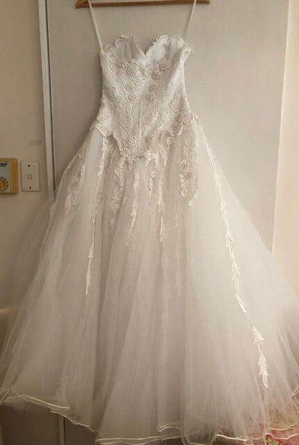 Bespoke / Other – Size 6 Strapless dress | Second hand wedding dresses Mcdowell - 6