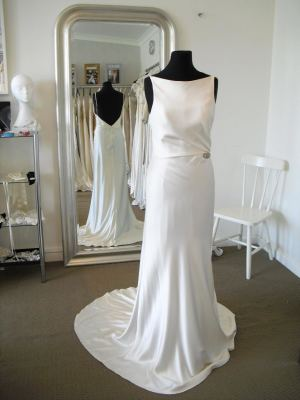 A-Line dress by The Wedding Boutique