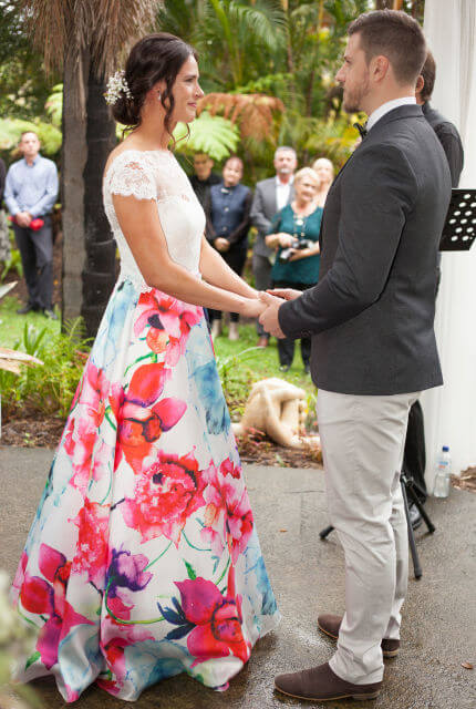 Bespoke / Other – Size 10 A-Line dress | Second hand wedding dresses Rochedale South - 5