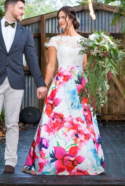 Bespoke / Other – Size 10 A-Line dress | Second hand wedding dresses Rochedale South - Size 10