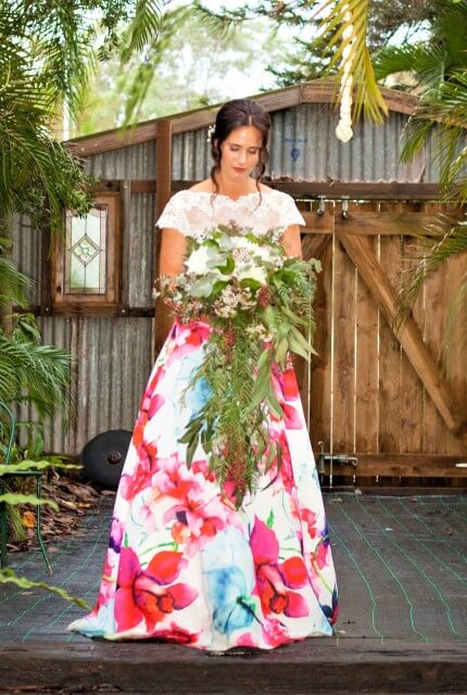 Bespoke / Other – Size 10 A-Line dress | Second hand wedding dresses Rochedale South - 6