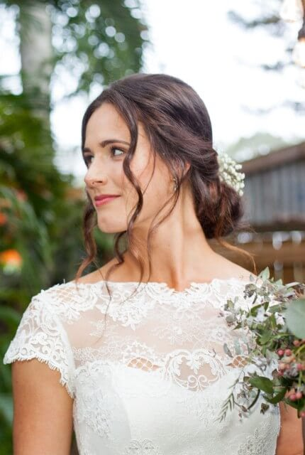 Bespoke / Other – Size 10 A-Line dress | Second hand wedding dresses Rochedale South - 3
