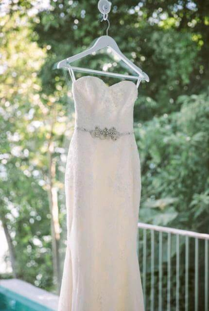 Enzoani – Size 6 Strapless dress | Second hand wedding dresses Oakleigh East - 6
