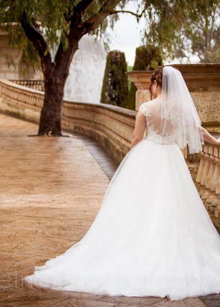 Maggie Sottero – Size 8 A-Line dress | Second hand wedding dresses Spearwood - Size 8