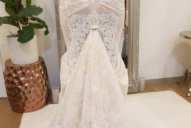 Galia Lahav – Size 12 Fit and Flare dress | Second hand wedding dresses Buccan - 6