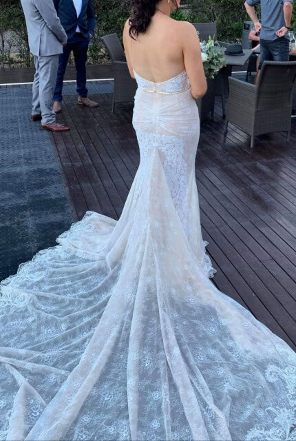 Galia Lahav – Size 12 Fit and Flare dress | Second hand wedding dresses Buccan - 5