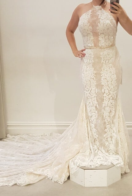 Galia Lahav – Size 12 Fit and Flare dress | Second hand wedding dresses Buccan - 3