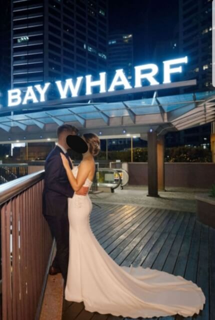 Maggie Sottero – Size 8 Fit and Flare dress | Second hand wedding dresses Sydney - 2