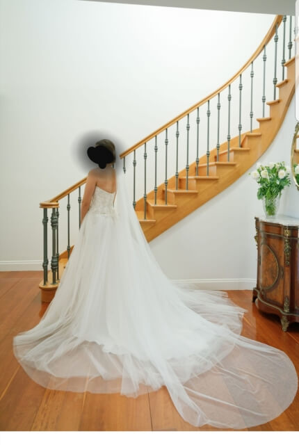 Maggie Sottero – Size 8 Fit and Flare dress | Second hand wedding dresses Sydney - Size 8
