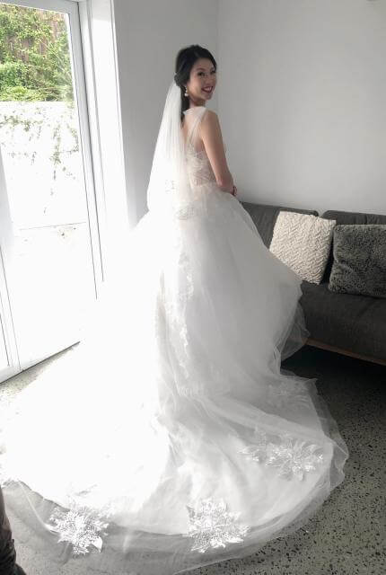 Bespoke / Other – Size 6 Ball Gown dress | Second hand wedding dresses Melbourne - 7