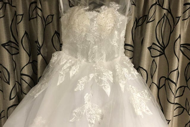 Bespoke / Other – Size 6 Ball Gown dress   Second hand wedding dresses Melbourne - 11