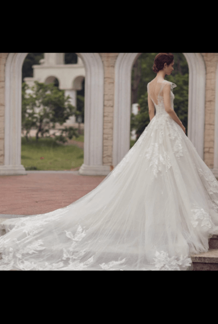 Bespoke / Other – Size 6 Ball Gown dress   Second hand wedding dresses Melbourne - 2
