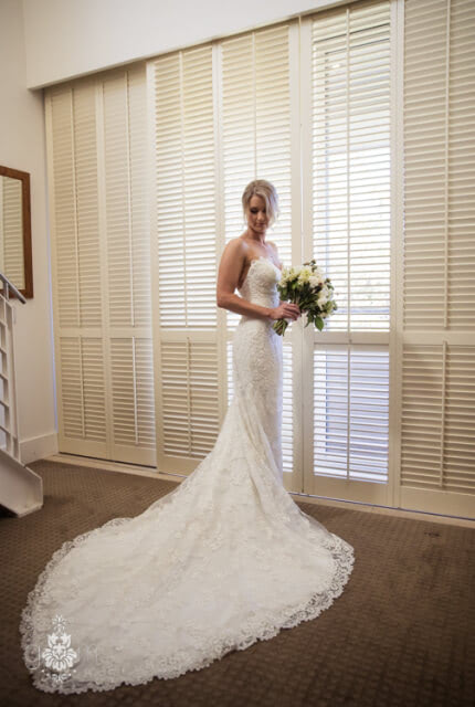 Nicole Spose – Size 8 Trumpet dress | Second hand wedding dresses Chiswick - Size 8