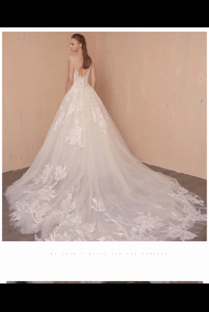 Bespoke / Other – Size 6 Ball Gown dress   Second hand wedding dresses Melbourne - 3