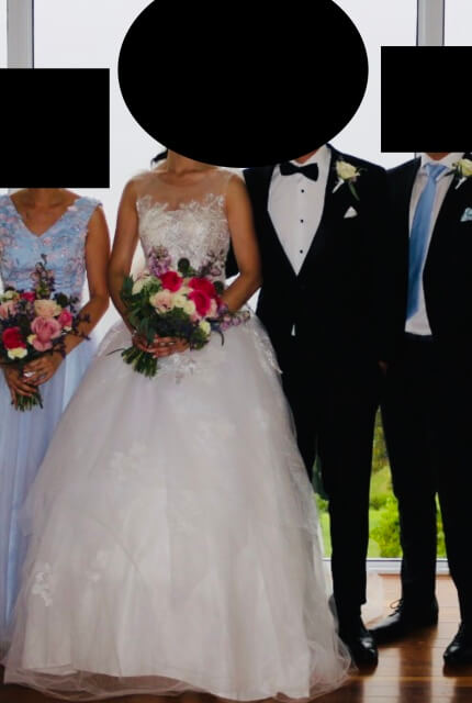 Bespoke / Other – Size 6 Ball Gown dress   Second hand wedding dresses Melbourne - 5