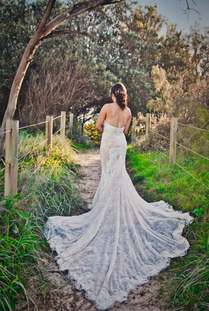 Galia Lahav – Size 12 Fit and Flare dress | Second hand wedding dresses Buccan - Size 12