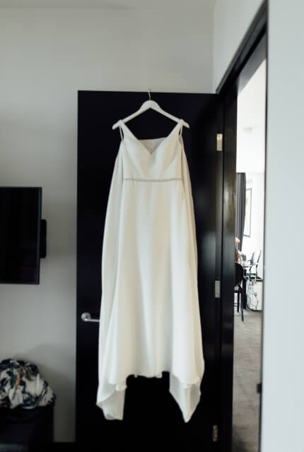 Essense of Australia – Size 12 Sheath dress | Second hand wedding dresses Narre Warren - 5
