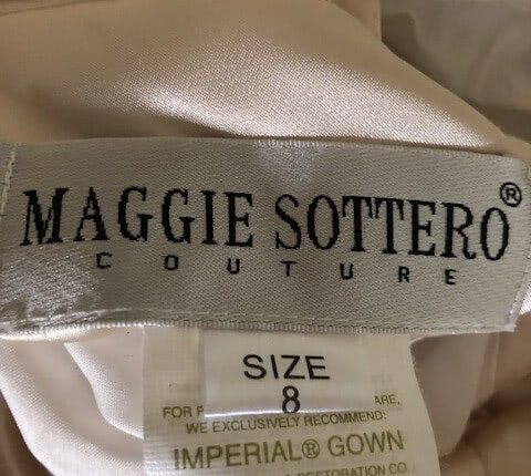 Maggie Sottero – Size 10 Empire dress | Second hand wedding dresses Paluma - 6